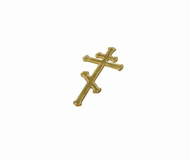 Крест на гроб, малый без распятия