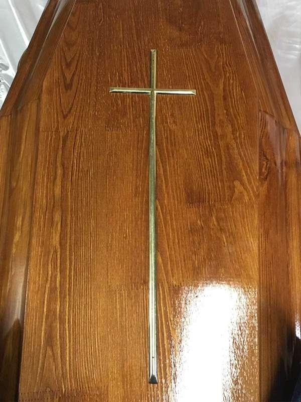 Крест на гроб, католический большой