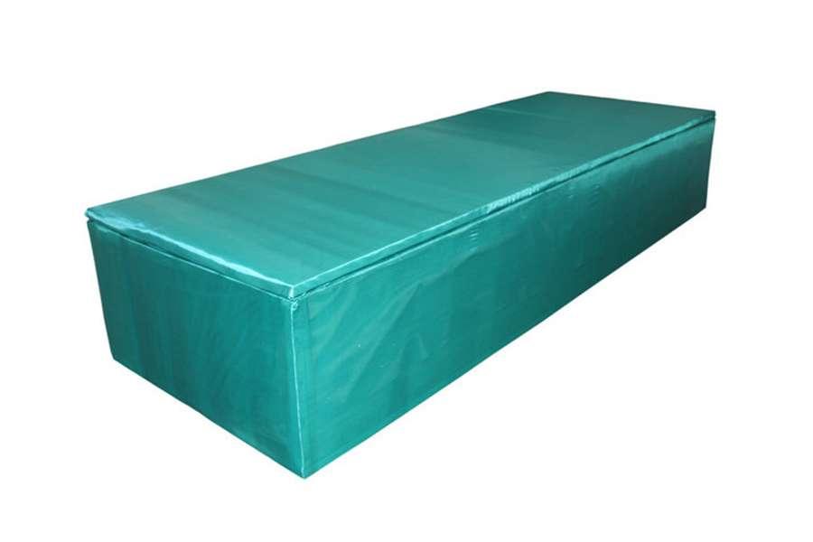 Гроб Мусульманский обитый тканью шёлк