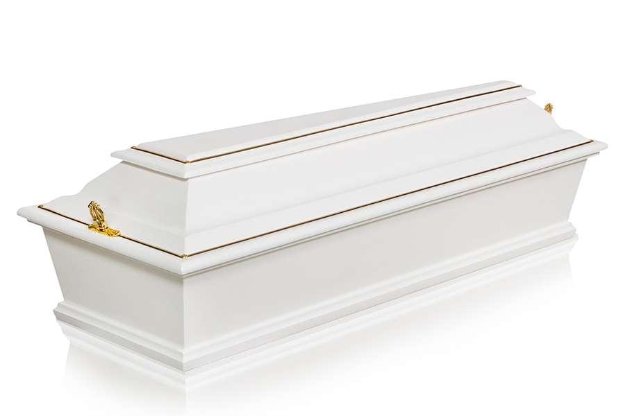 Гроб Детский ФД-4 белый