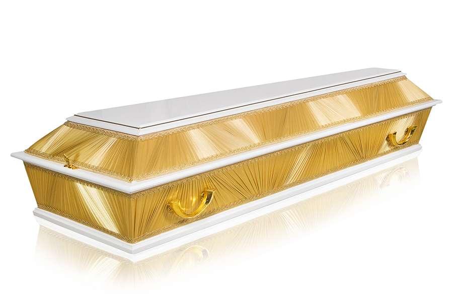 Гроб Комбинированный ФК-4Б золотой стандарт