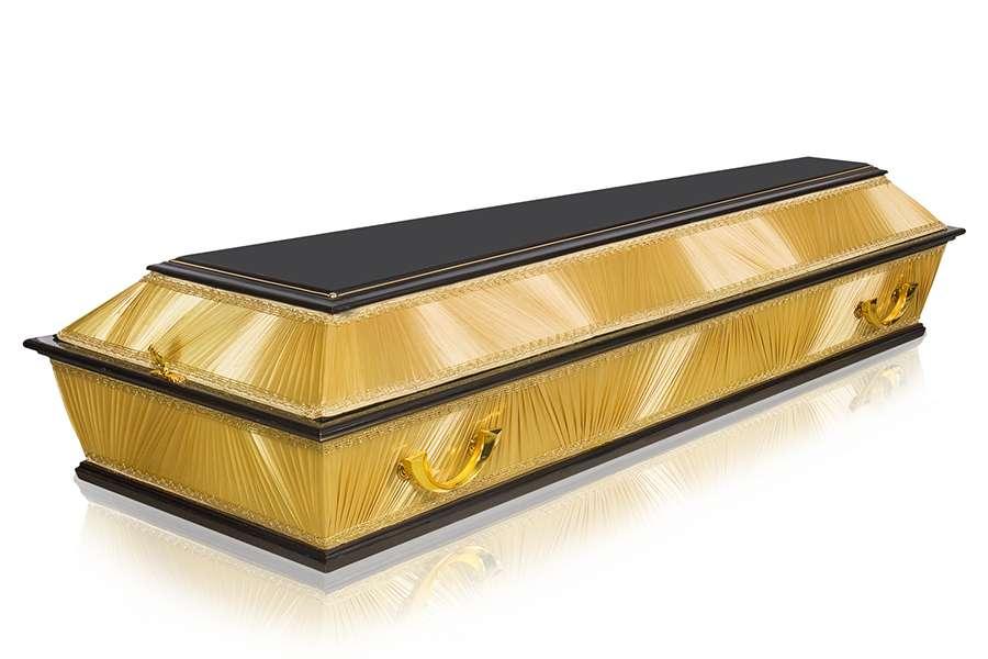 Гроб Комбинированный ФК-4Т золотой стандарт