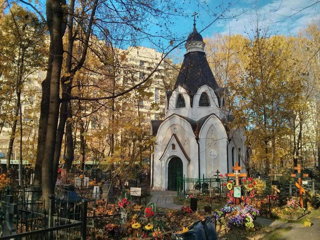 Богородское кладбище. Часовня-усыпальница А.Т. Колычева