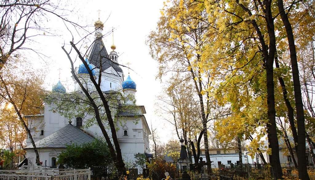 Вешняковское кладбищ