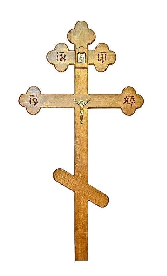 Крест дубовый КДЭ-04 «Большой»