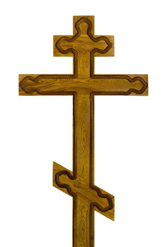 Крест дубовый КДЭ-06 широкий