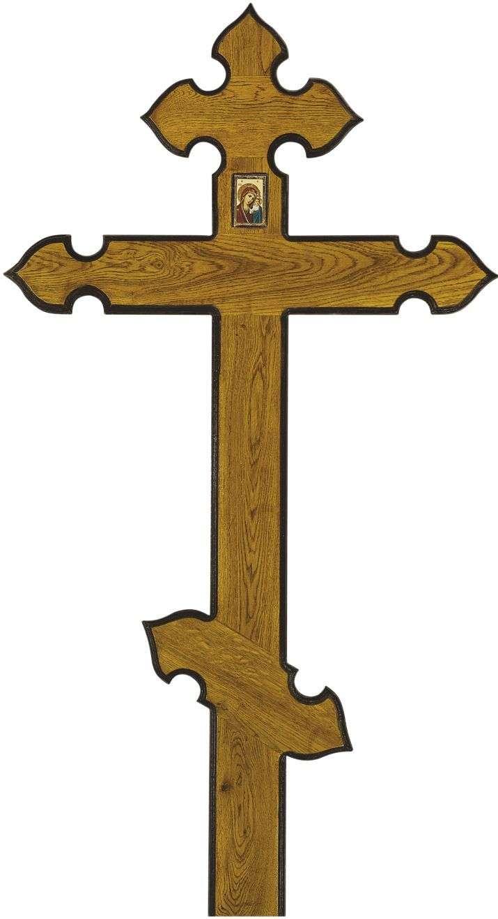 Крест дубовый КДЭ-07 «Купол»