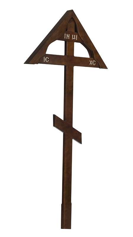 Крест сосновый КДС-08 «Домик»