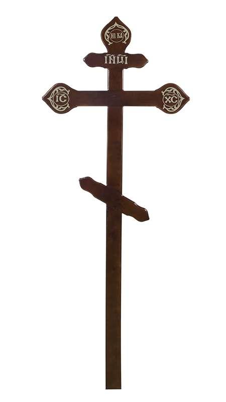 Крест сосновый КДС-15 «Фигурный»