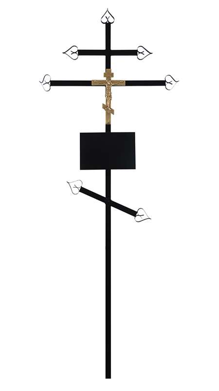 Крест металлический «Эконом»