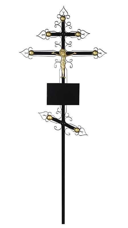 Крест металлический «Купола»