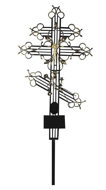 Крест металлический «Эсклюзив»