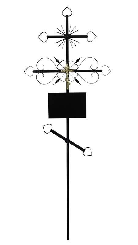 Крест металлический «Луч»