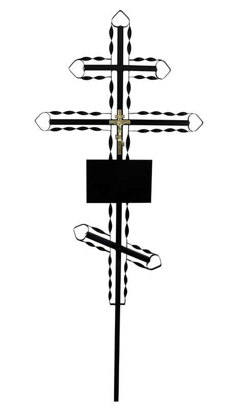 Крест металлический «Ажурный»