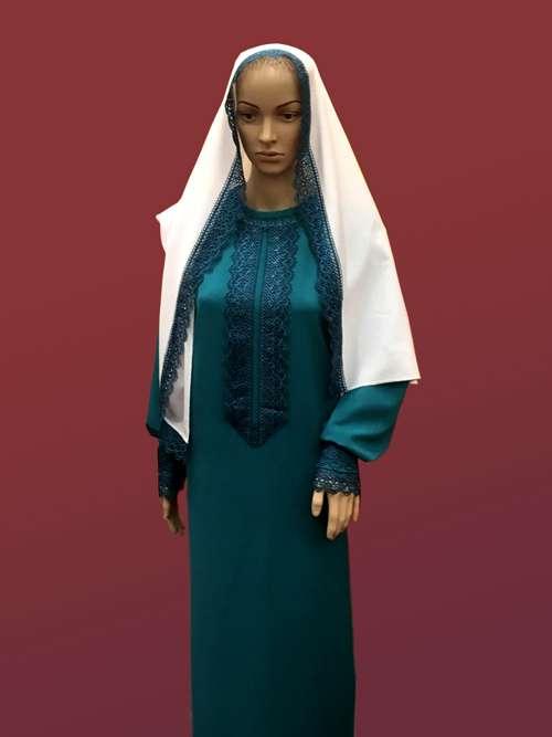 Женский комплект ритуальной одежды №3