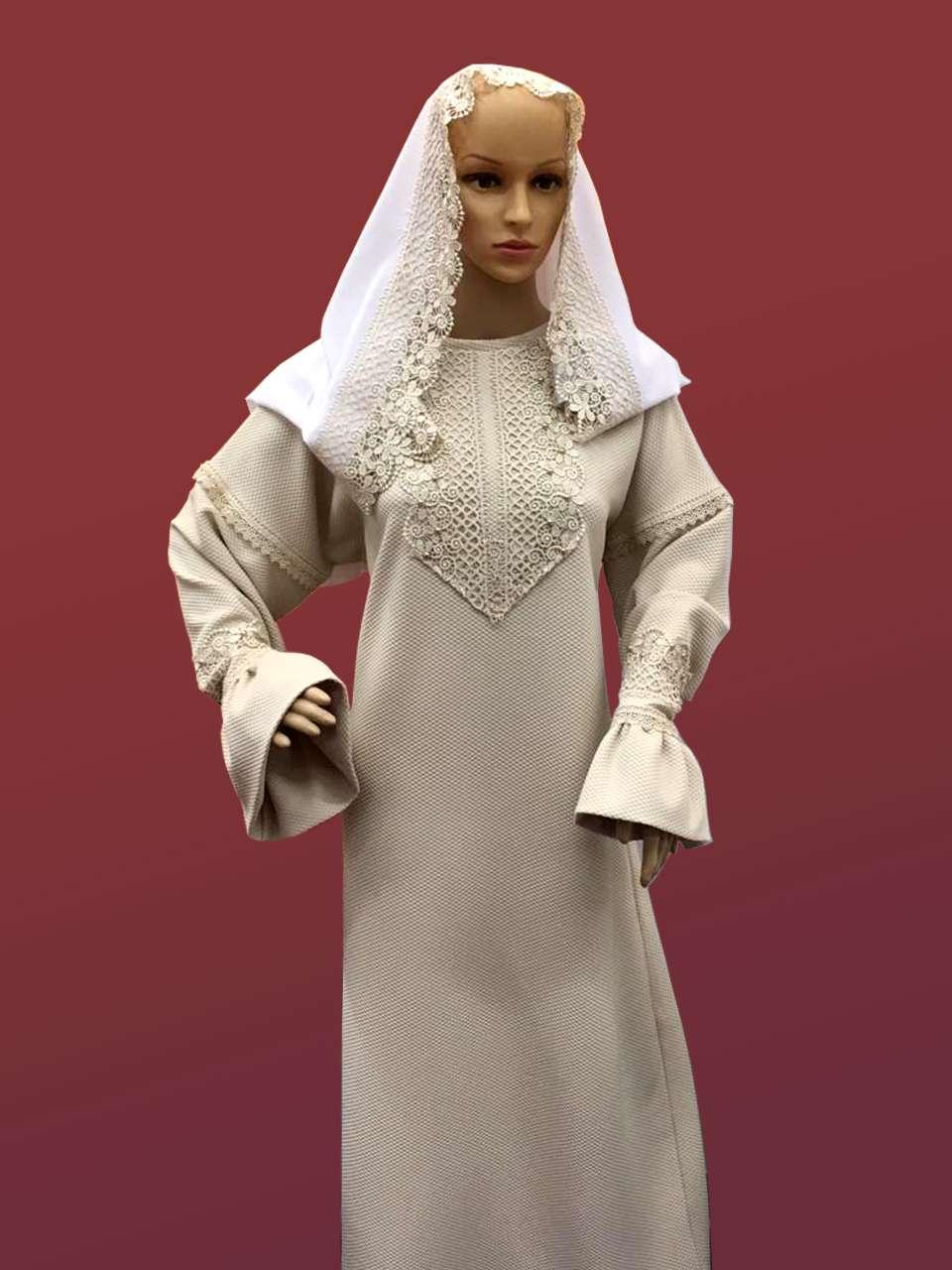 Женский комплект ритуальной одежды №4