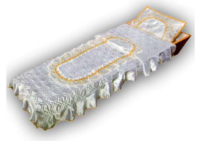 Комплект в гроб «Элегия» золото