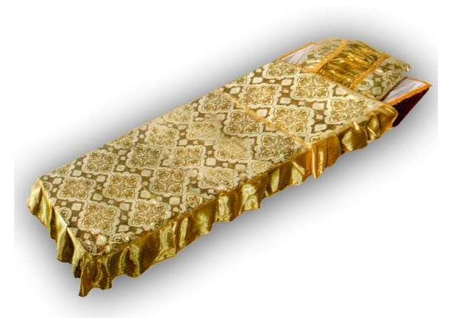 Комплект в гроб «Купеческий» золото