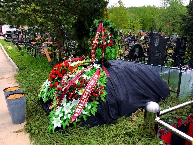 Оформление места погребения